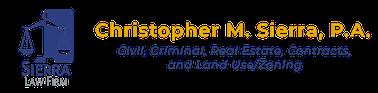 Christopher M. Sierra, P.A. Logo
